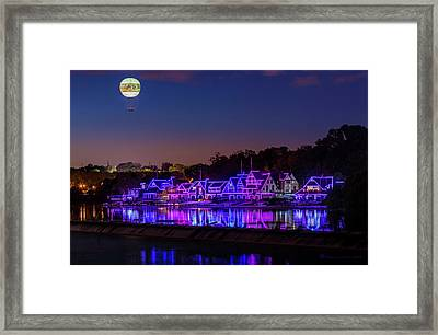 Boathouse Row Framed Print by Marvin Spates
