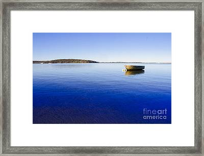 Boating Backgrounds Framed Print by Jorgo Photography - Wall Art Gallery