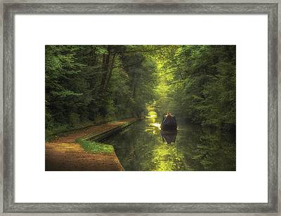 Boating In Solihull Framed Print by Chris Fletcher
