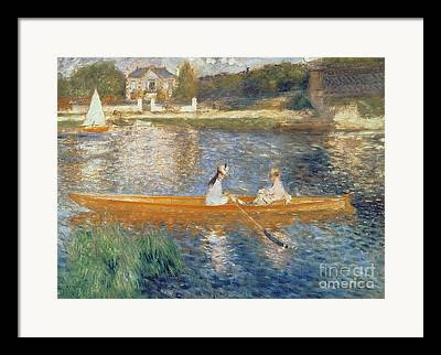 Pierre Renoir Framed Prints