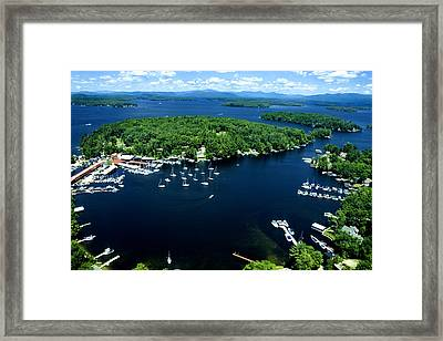 Boating Season Framed Print