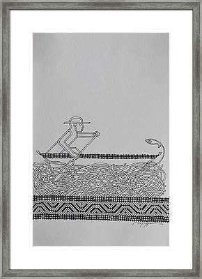 Boatman Framed Print by Raul Agner