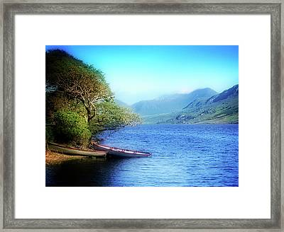 Framed Print featuring the photograph Boats At Rest by Scott Kemper