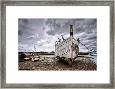 Boats By The Sea Framed Print by Nailia Schwarz