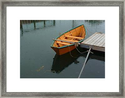 Boats In A Class Of Its Own Framed Print