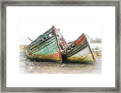Boats Isle Of Mull 4 Framed Print