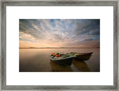 Boats Framed Print by Piotr Krol (bax)