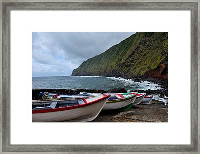 Boats,fishing-23 Framed Print