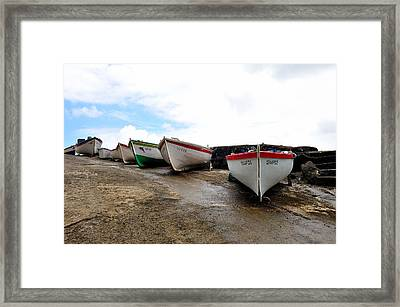 Boats,fishing-24 Framed Print