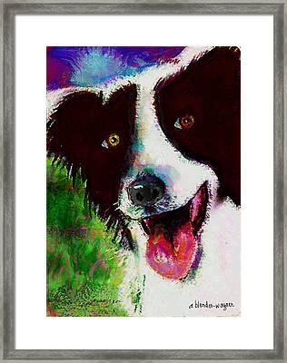 Bob Framed Print by Arline Wagner