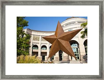 Bob Bullock Texas History Museum Framed Print