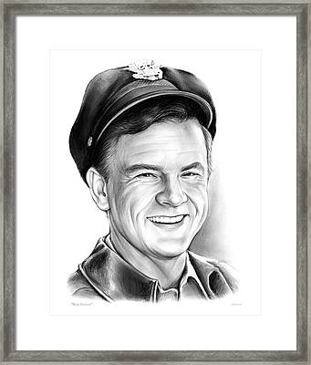 Bob Crane Framed Print by Greg Joens