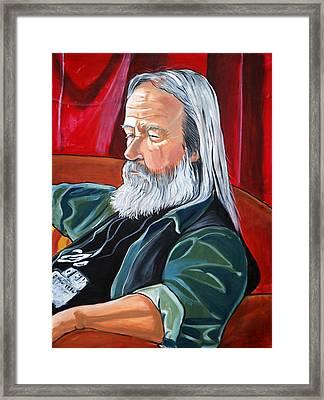 Bob Framed Print by Diana Blackwell