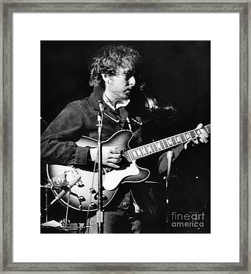 Bob Dylan (1941- ) Framed Print by Granger