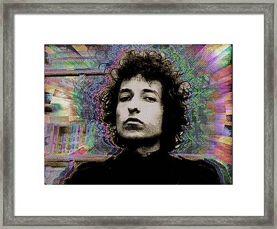 Bob Dylan 6 Framed Print by Tony Rubino