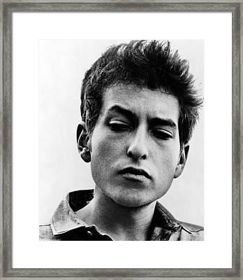 Bob Dylan B. 1941 Informal Portrait Framed Print by Everett