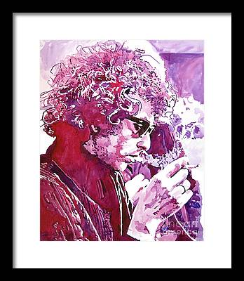 Rock Bob Dylan Framed Prints