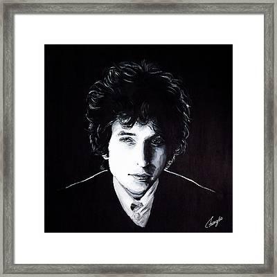 Bob Dylan - Like A Rolling Stone Framed Print