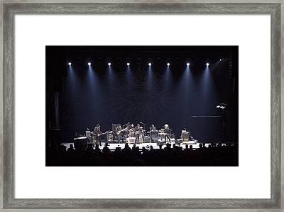 Bob Dylan In Boston Framed Print