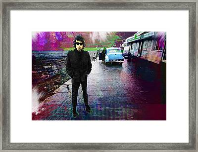 Bob Dylan No Direction Home 1 Framed Print