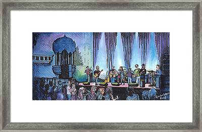 Bob Dylan Tribute Show Framed Print by David Sockrider