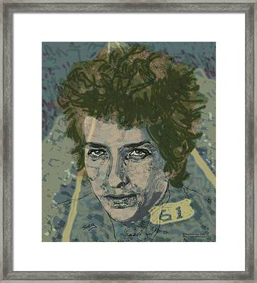 Bob Dylan's Highway 61 Framed Print by Suzanne Gee