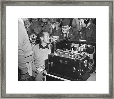 Bob Hope At Pebble Beach Framed Print