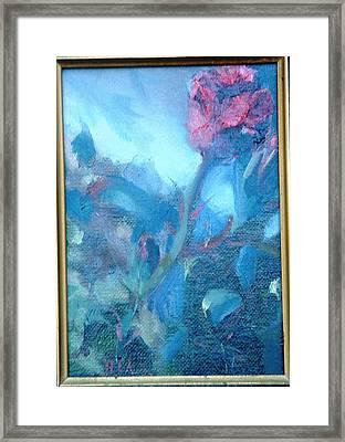 Bob Hope Rose Framed Print by Bryan Alexander
