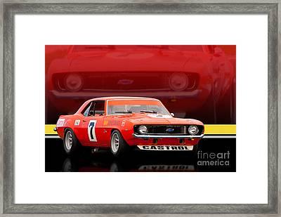 Bob Jane Camaro Framed Print