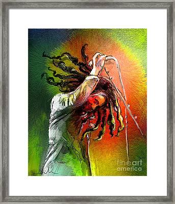 Bob Marley 07 Framed Print