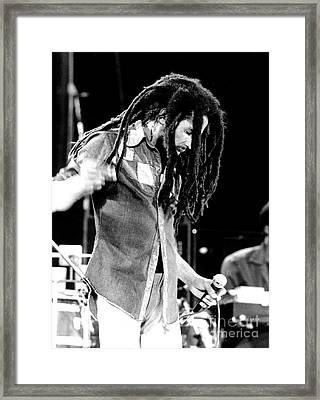 Bob Marley 1979  Framed Print