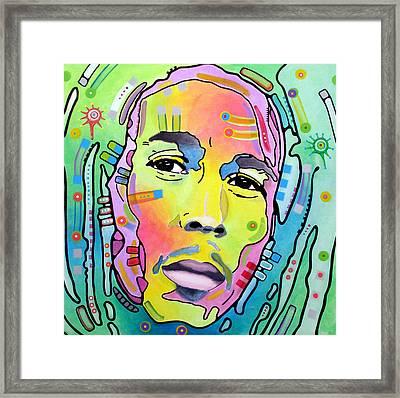 Bob Marley I Framed Print by Dean Russo