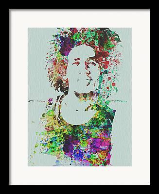 Reggie Framed Prints