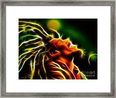Bob Marley Framed Print by Pamela Johnson
