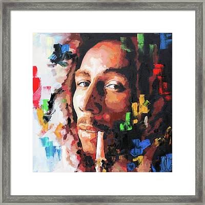 Bob Marly IIi Framed Print
