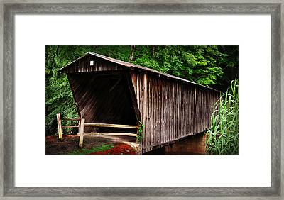 Bob White Bridge Framed Print