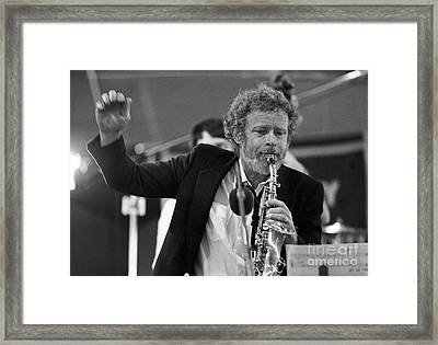 Bob Wilber Framed Print by The Harrington Collection