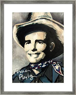 Bob Wills Framed Print
