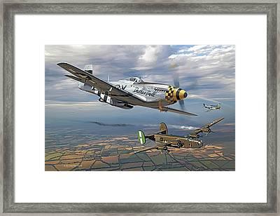 Bobak's Crew Framed Print