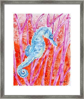 Bobbin' Along 2 Framed Print by Shaina Stinard