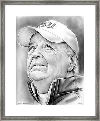 Bobby Bowden Framed Print