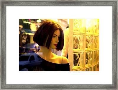 Bobby Framed Print by Jez C Self