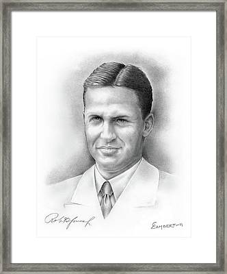 Bobby Jones Framed Print by Cliff Lambert