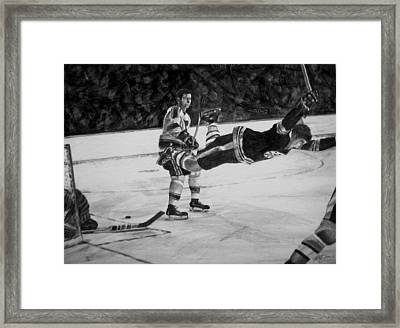 Bobby Framed Print by Peter Jurik