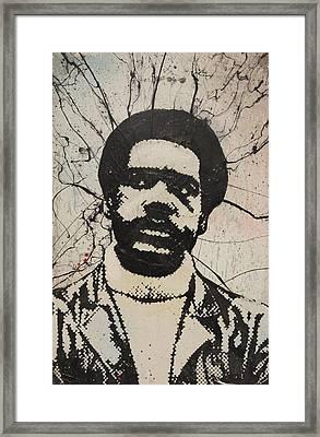 Bobby Seale - Black Panther Framed Print by Dustin Spagnola
