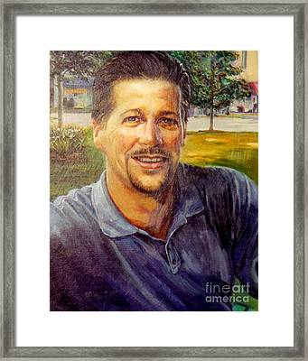 Bobby Framed Print by Stan Esson