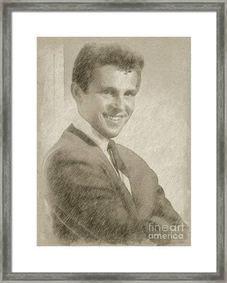 Bobby Vinton, Singer Framed Print by Frank Falcon