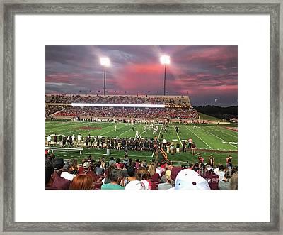 Bobcat Football  Framed Print by Gary Ray