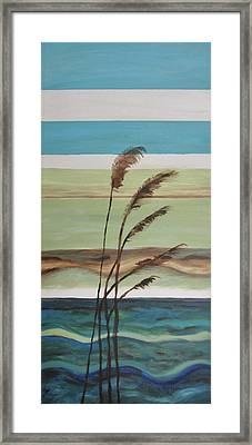 Bob's Beach Framed Print