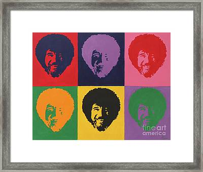 Bobs Framed Print